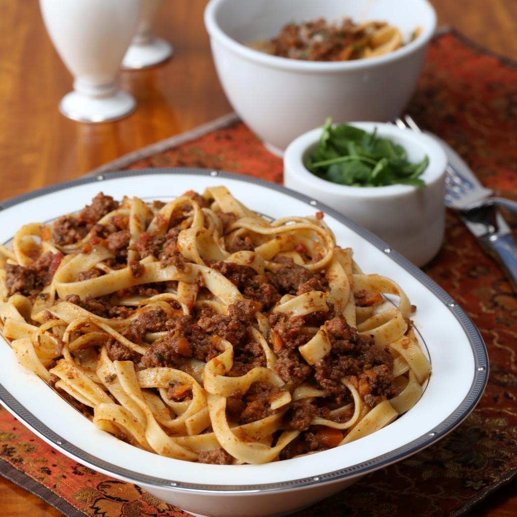Ragu pasta   My global cuisine