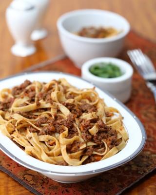 Traditional Ragu alla Bolognese