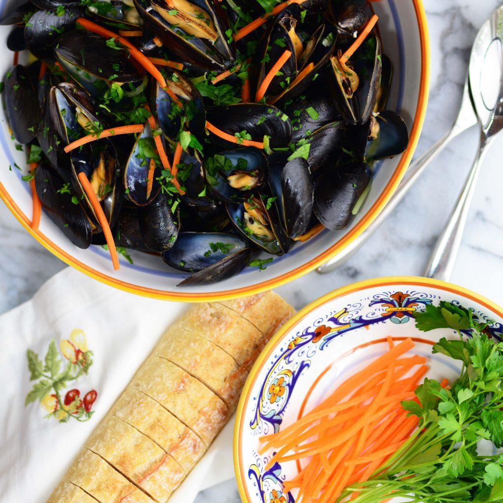 Mussels Al Sambuca
