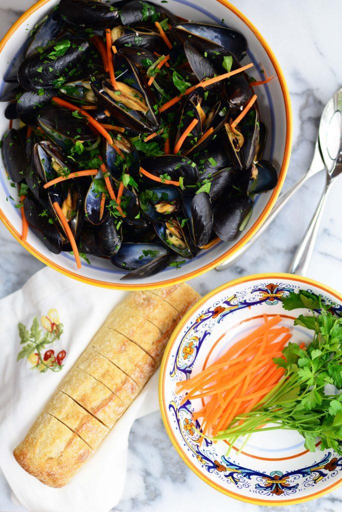 Mussels al Sambuca|My Global Cuisine