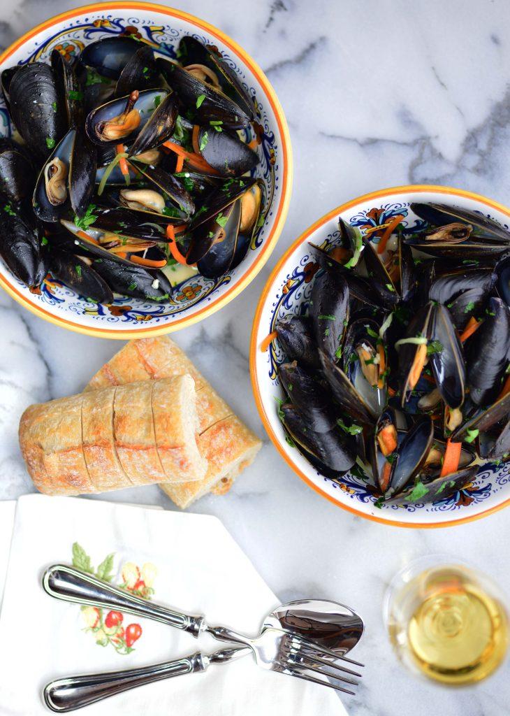 Mussels al Sambuca My Global Cuisine