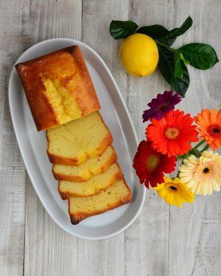 French Yogurt Cake With Marmalade Glaze