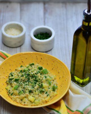 Italian Zucchini Risotto