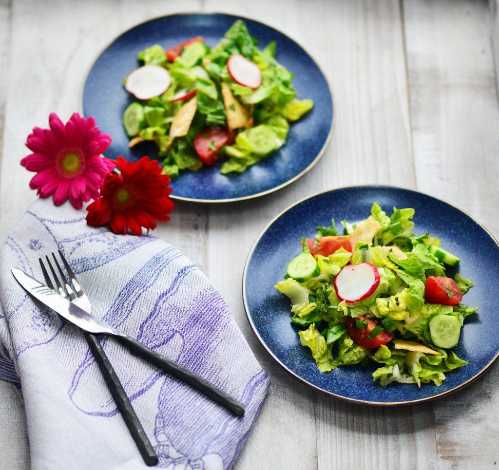 Fattoush Salad|My Global Cuisine