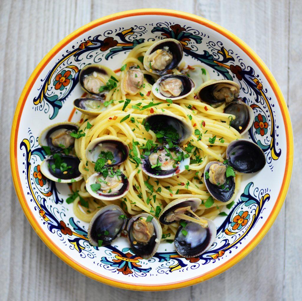 Spaghetti with Clams My Global Cuisine
