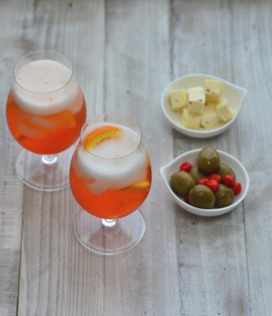 Italian Aperol Spritz|My Global Cuisine