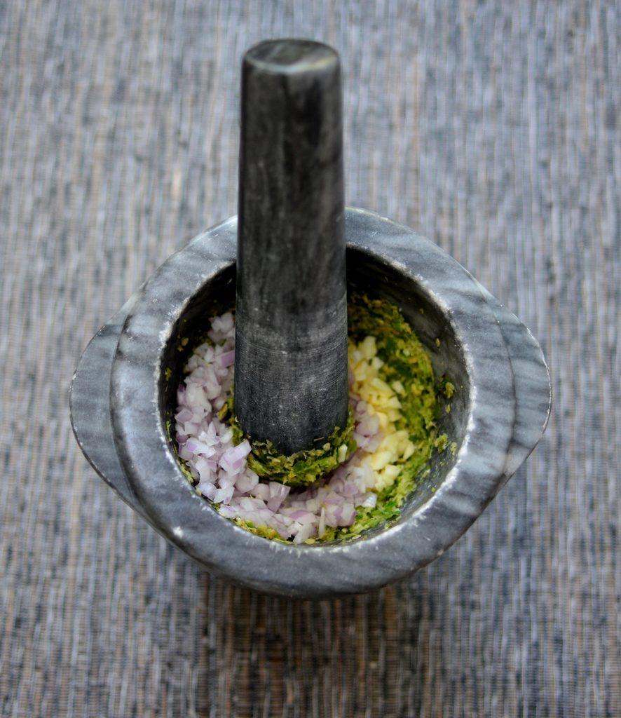 Authentic Thai Green Shrimp Curry|My Global Cuisine