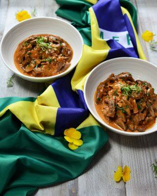Brazilian Beef Stroganoff